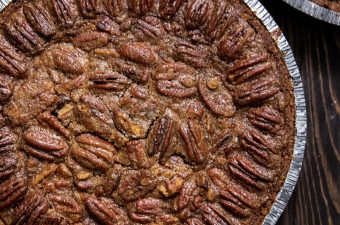 maple cinnamon brown sugar pecan pie without corn syrup