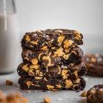 Copycat Levain Bakery Dark Chocolate Peanut Butter Chip Cookies