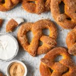 Mini Cinnamon Sugar Pretzels