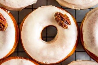 Maple Pecan Doughnuts