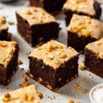 Chocolate Peanut Butter Snack Cake