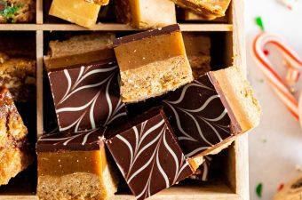 Brown Butter Salted Caramel Slice