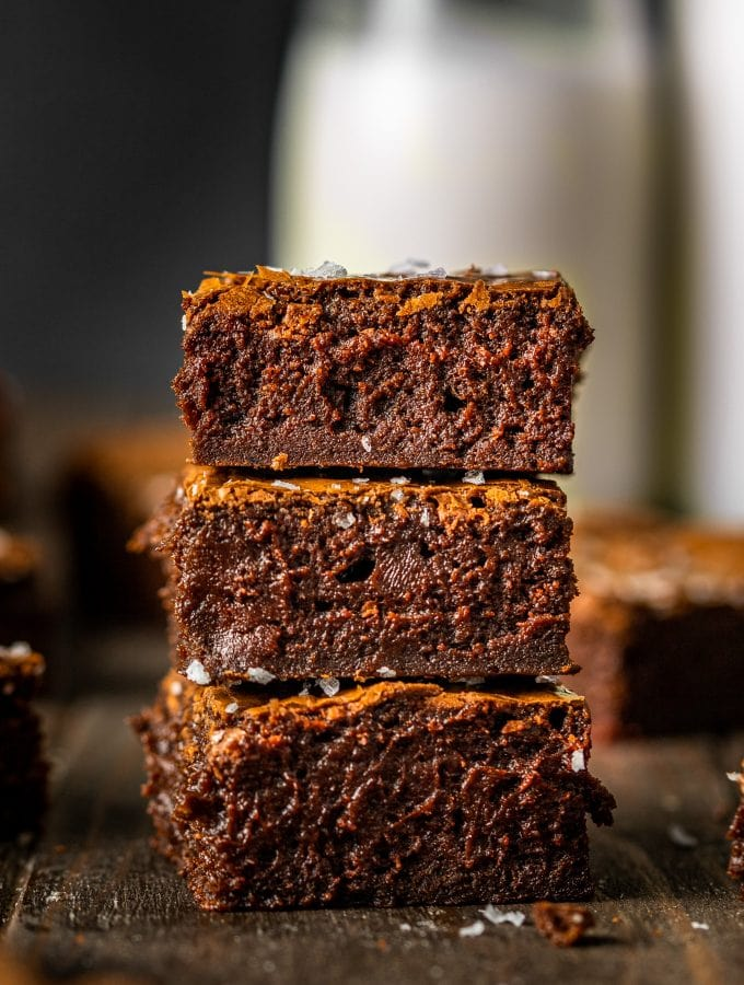 small batch fudge brownies