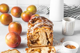 Apple Cinnamon Swirl Babka